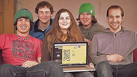 Pucher Studenten entwickeln Spiele-Hit im Internet (Bild: Krone/ Marble Run)
