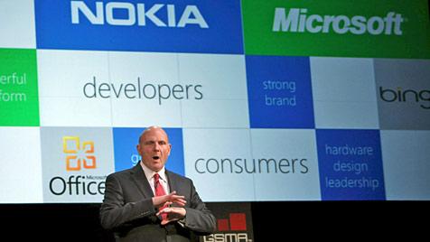Update bringt neue Funktionen für Windows Phone 7 (Bild: EPA)