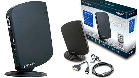 Sapphire stellt kleinsten Desktop-PC der Welt vor (Bild: Sapphire)