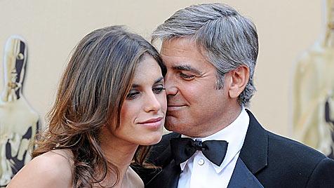 (K)Ein Baby für George Clooney und Elisabetta Canalis?