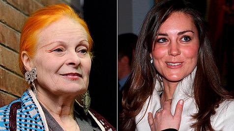 Designerin Vivienne Westwood: Kate hat wenig Stil