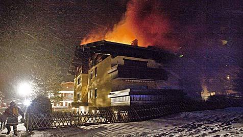 Haus in Kaprun nach Brand nicht mehr bewohnbar (Bild: Nikolaus Faistauer)