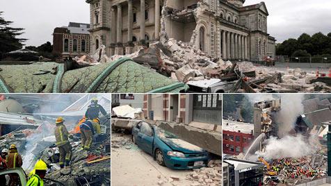 Ansfeldener dem Erdbeben entkommen