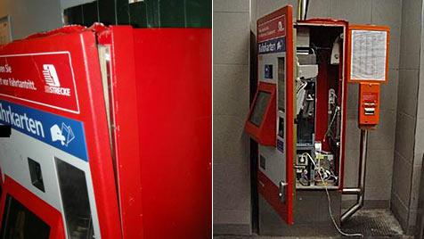Automaten-Coups an Bahnhöfen in NÖ und Wien geklärt (Bild: LKA NÖ)