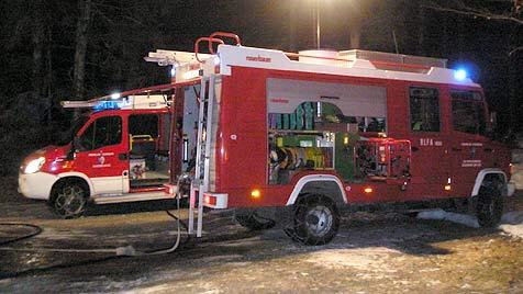 Baby aus stark verrauchtem Haus gerettet (Bild: FF Gaishorn am See)