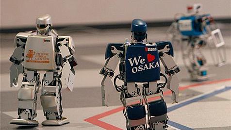 Erster Roboter-Marathon in Japan gestartet