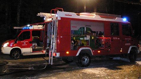 Heizdecke setzt Haus in Nußdorf in Brand (Bild: FF Gaishorn am See)