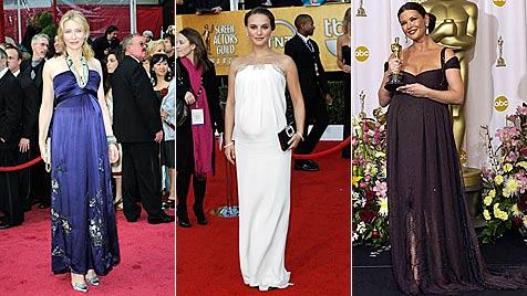 Mit Bauch beim Oscar: Hollywood im Babyrausch