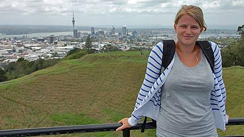Salzburgerin (23) überlebte Erdbeben in  Neuseeland (Bild: Bernhard Niederhauser/Privat)