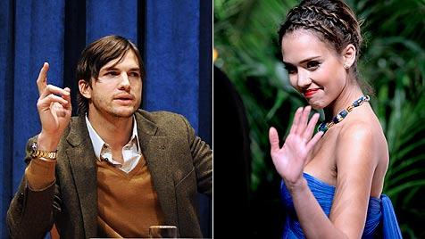 Kutcher, Parker und Alba sind mieseste Schauspieler (Bild: EPA)