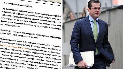30.000 Akademiker fordern Guttenbergs R�cktritt