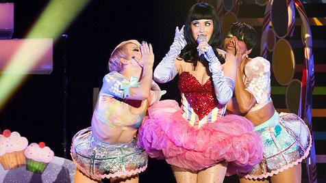 Ausflug ins Lollipop-Land: Katy Perry live in Wien (Bild: Andreas Graf)