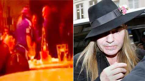 Video in Café zeigt üble Schimpftirade von John Galliano