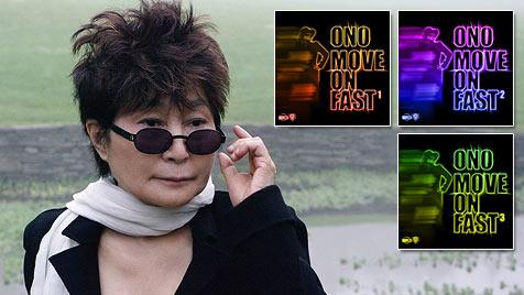 Yoko Ono mit 78 Nummer 1 in den US-Dance-Charts