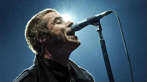 Oasis-Nachfolger Beady Eye am Frequency-Festival