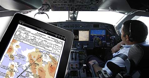 Apples iPad ersetzt Luftfahrtkarten in US-Cockpits