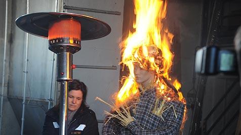 Bereits zwölf gefährliche Brände durch Narren (Bild: Hannes Markovsky)