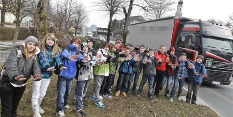 30.000 Fahrzeuge pro Tag zerstören Bergheim (Bild: Markus Tschepp)