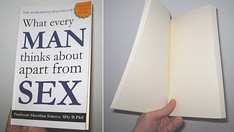 Buch mit 200 leeren Seiten ist Amazon-Bestseller (Bild: Amazon.com)
