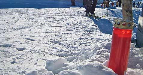 50-Jähriger beim Skifahren gegen Felsen gerast - tot (Bild: Hannes Wallner)