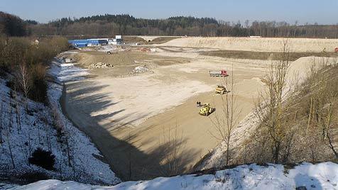 Geplantes Rewe-Lager bleibt weiter Aufreger in Ohlsdorf (Bild: Privat)