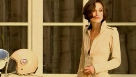 Ooh-la-la: Keira Knightley im neuen Chanel-Spot (Bild: Zoom.in)