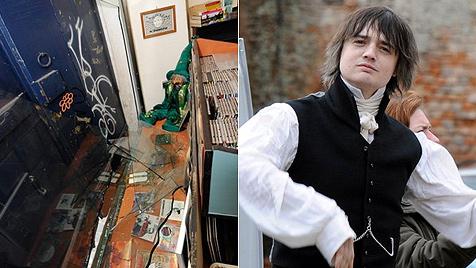 Polizei: Doherty an Einbruchdiebstahl beteiligt