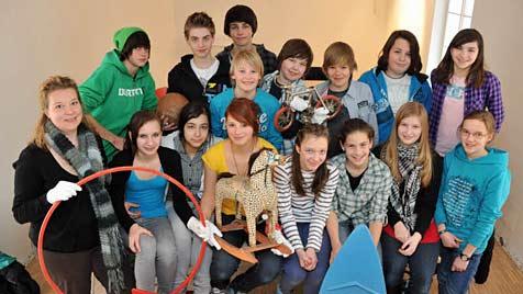Spielzeugmuseum wird von Schülern mitgestaltet (Bild: Wolfgang Weber)