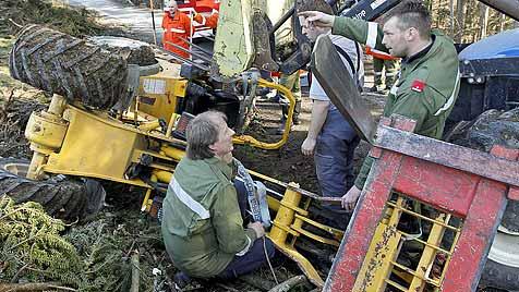 Vize-Bürgermeister von Elixhausen schwer verletzt (Bild: Markus Tschepp)