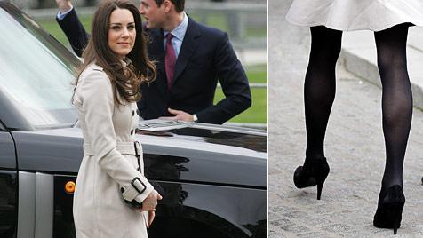 Kate Middleton wird immer dünner - Briten besorgt