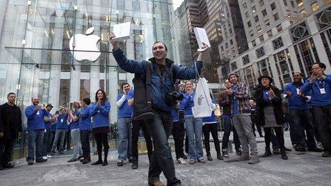 Ausverkauft: Apple erlebte bei US-Start Ansturm auf iPad 2