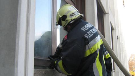 Bauarbeiten lösten Brand in Gymnasium aus (Bild: Freiwillige Feuerwehr der Stadt Klosterneuburg)
