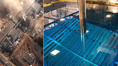 Fukushima: Bericht erhebt massive Vorwürfe (Bild: AP, DigitalGlobe)