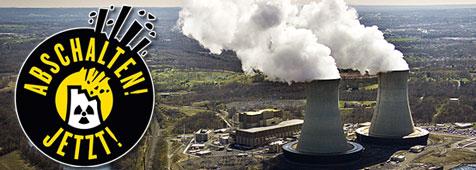Unterschreiben gegen Atomkraft!