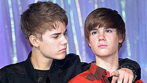 Der doppelte Bieber in New York, London und Amsterdam