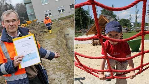 Tunnelsanierung zerstört beliebten Park in Linz (Bild: Einöder, Wenzel)