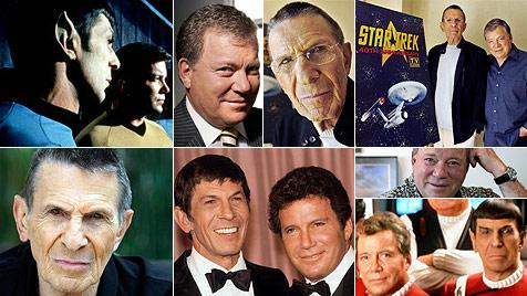 """Happy Birthday! """"Captain Kirk"""" und """"Spock"""" werden 80 (Bild: AP, EPA)"""