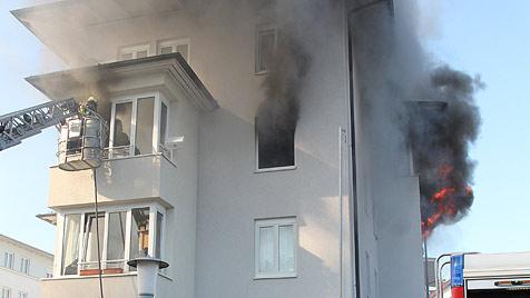 Feuerdrama in Gmunden begann auf Facebook (Bild: salzi.at)