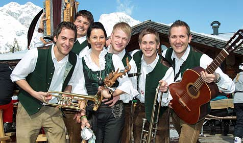 """Skihüttenroas"" mit echter Volksmusik war toller Erfolg (Bild: Andreas Kreuzhuber)"