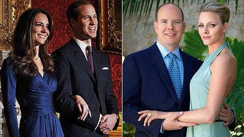 Albert II. kommt ++ Perry und Hilton als Hochzeitscrasher?