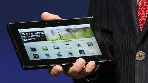 Blackberry-Produzent bringt in Kürze Tablet heraus