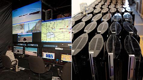 Air Force baut Supercomputer aus 1.716 PS3s (Bild: wpafb.af.mil)