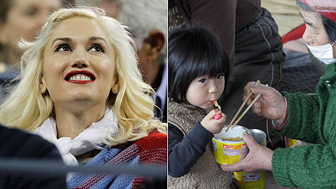 Gwen Stefani gibt Millionen-Spende für Japan