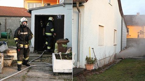 Zum zweiten Mal Brand in Welser Haus verhindert (Bild: Matthias Lauber)