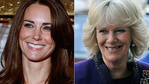 Herzogin Camilla ist von Kate Middleton total hingerissen