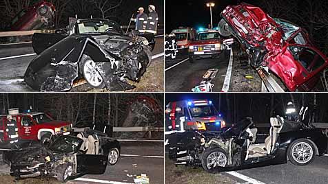 Fünf Verletzte bei zwei Unfällen in Niederösterreich (Bild: Freiwillige Feuerwehr Tulln-Stadt)