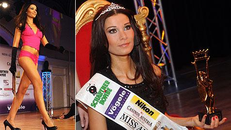 "Aufregung um das Alter der ""Miss Austria 2011"" (Bild: APA/HERBERT PFARRHOFER)"