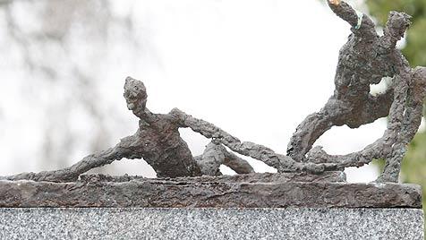 Figuren von Friedhofs-Kreuzweg gestohlen (Bild: Gantner)