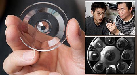 Forscher entwickeln 3D-Linse für Mikroskope (Bild: Kevin Fitzsimons, courtesy of Ohio State University)