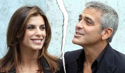 George Clooney und Elisabetta Canalis nicht mehr liiert? (Bild: AP)